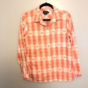 Pendleton Aztec Women's Button Down Shirt Large
